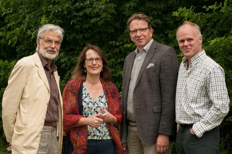 Dr. Joachim Nitsch, Heffa Schücking, Dr. Jörg Probst, Dr. Jörg Lange