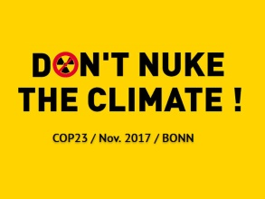 Logo: Don't nuke the Climate