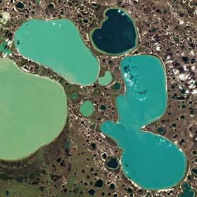 Permafrost in Sibirien